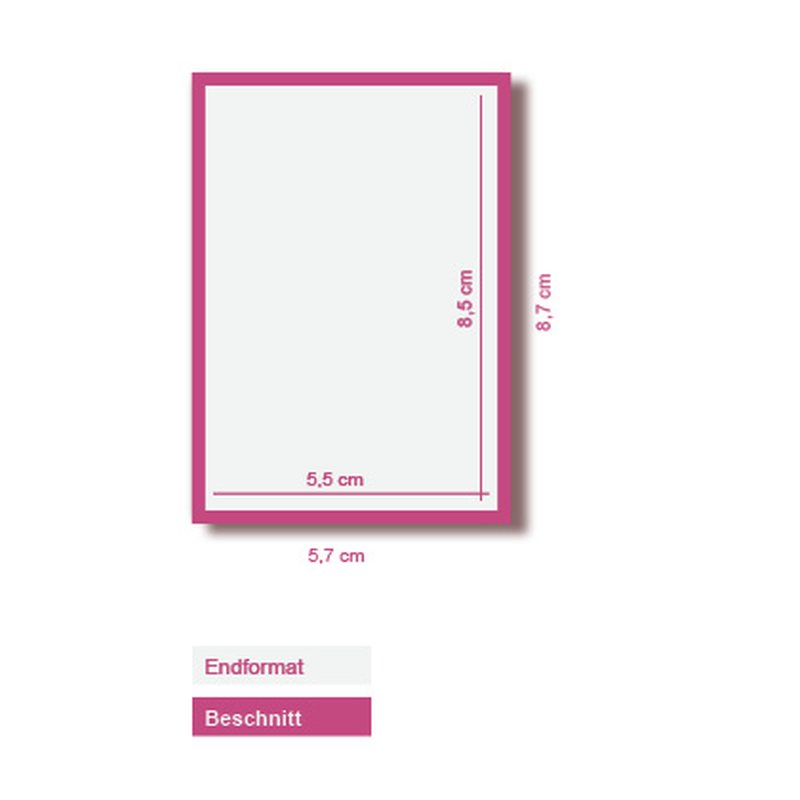 2500 Visitenkarten 300g Leinenpapier Weiß 4 4 Farbig