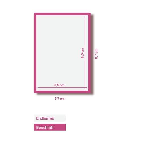 5000 Visitenkarten 350g Offset Weiß 4 0 Farbig